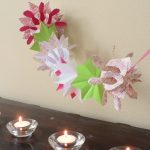 Origami Projects Decoration Diwali Kids Craft Origami Paper Garland Montessori