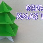 Origami Projects Decoration Origami Christmas Tree Origami Easy Youtube
