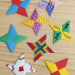 Origami Projects For Kids How To Fold Paper Ninja Stars Frugal Fun For Boys And Girls