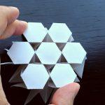 Origami Tessellations Hexagons 3d Tessellation Hexagon Twist Pinterest Pattern Origami