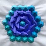 Origami Tessellations Hexagons Mathematical Inspired 3d Paper Kaleidoscope Tessellations Brandon
