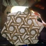 Origami Tessellations Hexagons Open Back Hexagon Tessellation Origami Tessellations Pg 4 Flickr