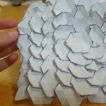 Origami Tessellations Hexagons Origami Spread Hex Tessellation Designed Eric Gjerde Not A