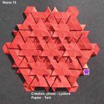 Origami Tessellations Hexagons Origami Tessellations