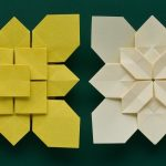 Origami Tessellations Tutorial Clover And Hydrangea Tessellations There Are Links To Both Videos