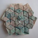 Origami Tessellations Tutorial Flagstone Tessellation Peter Keller Fold Your Own From Flickr