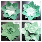 Origami Tessellations Tutorial Flowers And Stencils Origami Tessellations Steemit