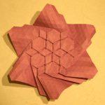 Origami Tessellations Tutorial Folding A Flagstone Tessellation Origamijoel