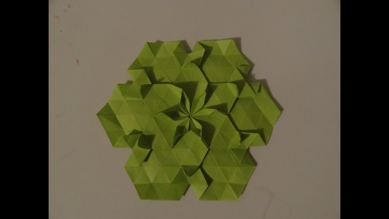 Origami Tessellations Tutorial Origami Tesselation 1 Tutorial Youtube