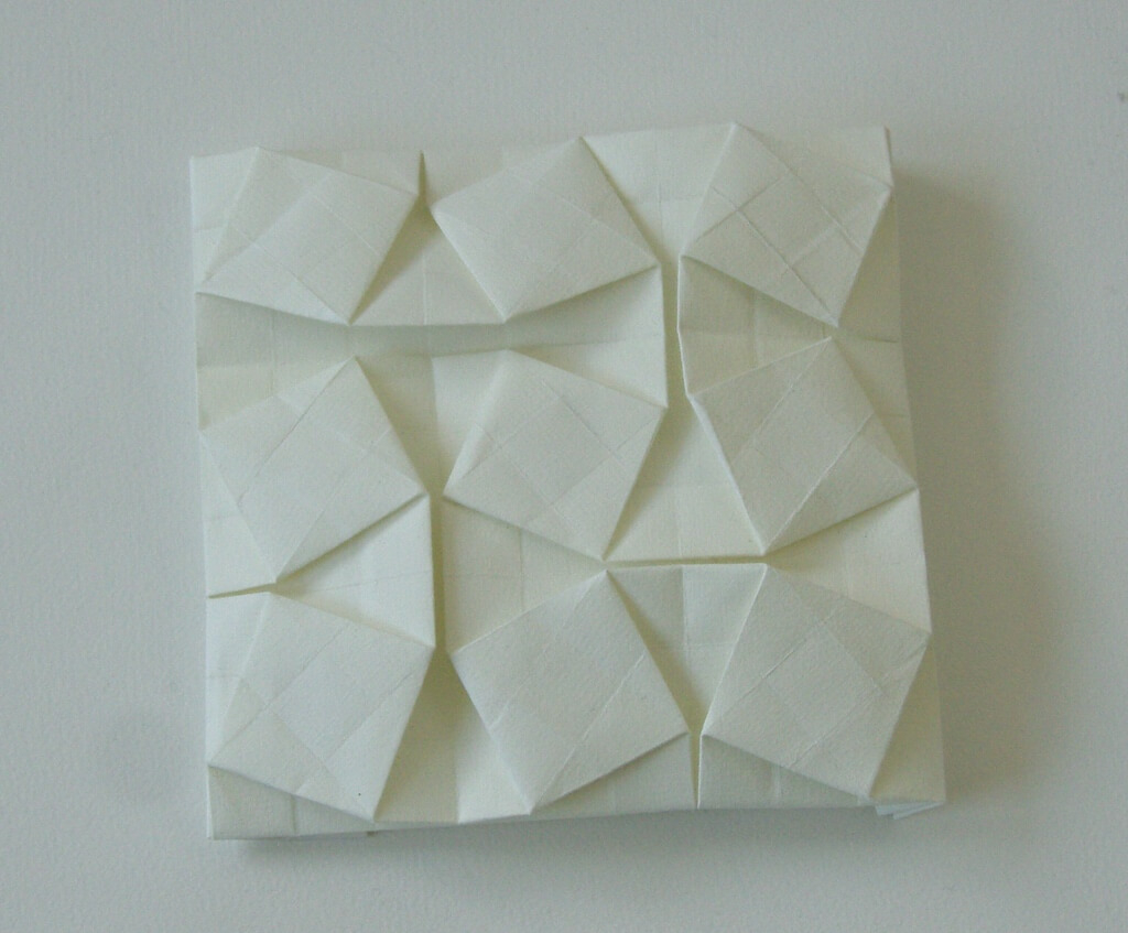 Origami Tessellations Tutorial Squares Flat Tessellations Learn Paper Folding