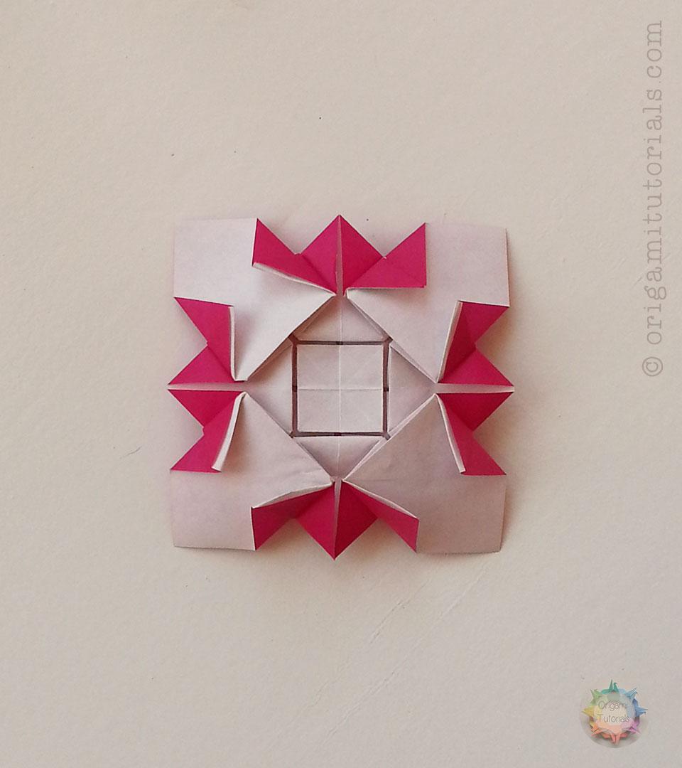 Origami Tessellations Tutorial Squares Origami Hydrangea Shuzo Fujimoto A Paper Study Origami Tutorials