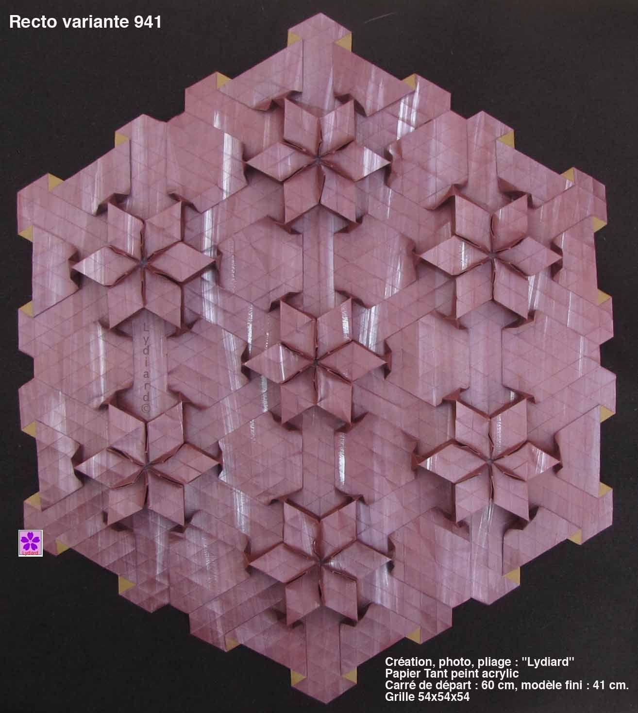 Origami Tessellations Tutorial Squares Origami Tessellation Ms Origami Favorites Pinterest Origami