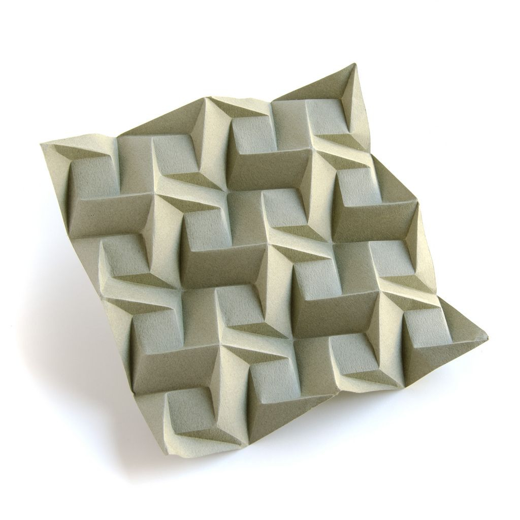 Origami Tessellations Tutorial Squares Origami Tessellation Squares 1 C Iso My Own Works Pinterest