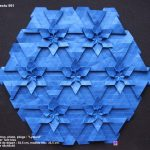 Origami Tessellations Tutorial Squares Page Has Multiple Tessellation Tutorials Based On Both The Triangle
