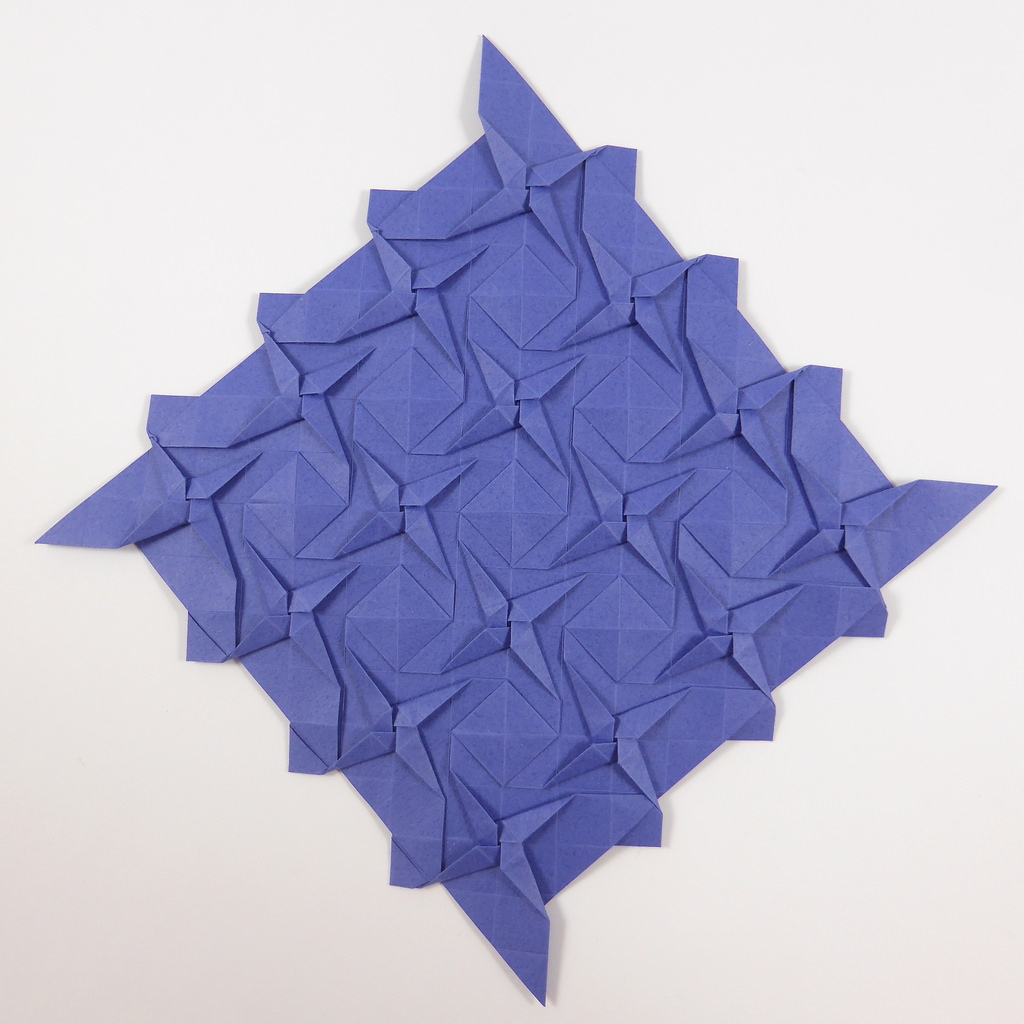 Origami Tessellations Tutorial Squares The Worlds Best Photos Of Origami And Squares Flickr Hive Mind