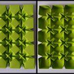 Origami Tessellations Tutorial Tutorial 28 Square Rhombus And Waterbomb Tessellation Ms