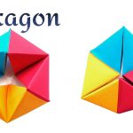 Origami Tutorial Geometric Geometric Shapes Paperfoldsin Origami Arts And Crafts