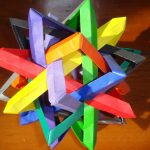 Origami Tutorial Geometric The Math And Art In Origami How To Make Geometric Wireframes 6 Steps