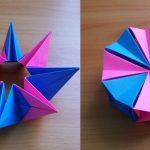 Paper Origami Easy Diy How To Fold An Easy Origami Magic Circle Fireworks Fun Paper