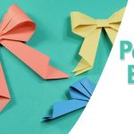 Paper Origami Easy Easy Origami For Kids Paper Bow Tie Simple Paper Craft Idea For
