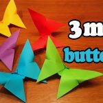 Paper Origami Easy How To Make An Easy Origami Butterfly In 3 Minutes Youtube