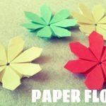 Paper Origami Easy Paper Flower Tutorial Origami Easy Youtube