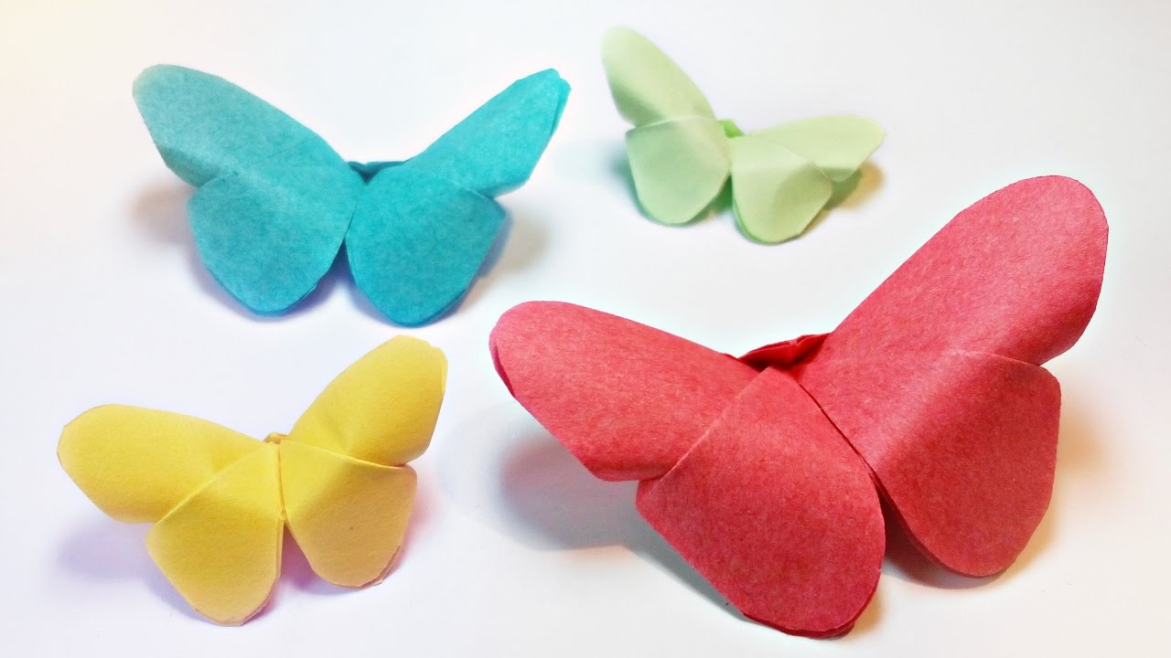 Paper Origami Step By Step How To Make Paper Origami Butterfly Easy Step Step For Kids For