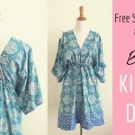 Pattern Sewing Easy Boho Kimono Dress Sewing Tutorial Youtube