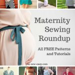 Pattern Sewing Easy Maternity Sewing Patterns And Tutorials Roundup All Free So Sew Easy
