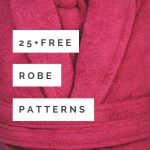 Pattern Sewing Easy Robe Patterns Roundup 25 Comfy Designs All Free So Sew Easy