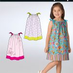 Pattern Sewing Easy Simplicity 2228 Its So Easy Childs Dresses