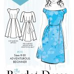 Pattern Sewing Easy The Bardot Dress Simple Sew Pattern