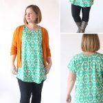 Pattern Sewing Easy The Breezy Tee Tunic Free Sewing Pattern Its Always Autumn