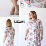 Pattern Sewing Easy The Easy Tee Swing Dress Simple Sewing Tutorial Its Always Autumn