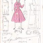 Pattern Sewing Free Free Vintage Coat Sewing Pattern Sewing Pinterest Vintage Coat