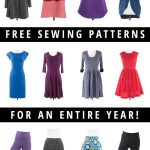 Pattern Sewing Free Giveaway Win A Year Of Free Sewing Patterns Indiesew