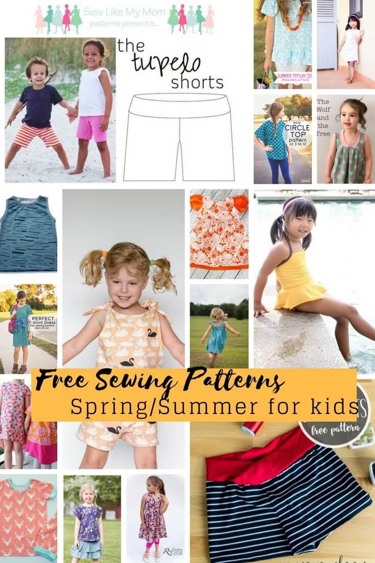 Pattern Sewing Kids Free Sewing Patterns For Kids Springsummer 2018 Life Sew Savory