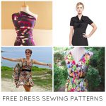 Pattern Sewing Women 10 Free Dress Sewing Patterns Youll Love