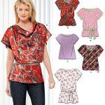 Pattern Sewing Women Blouse Patterns Simplicity Lauren Goss