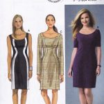 Pattern Sewing Women Butterick Easy Sewing Pattern Misses Women S Fitted Dress Sizes 8