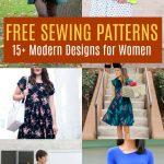 Pattern Sewing Women Free Pattern Alert 15 Modern Design Sewing Patterns For Women On