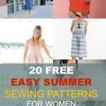 Pattern Sewing Women Free Sewing Patterns 20 Easy Summer Patterns For Women On The