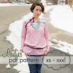 Pattern Sewing Women Ladies Quick Dress Top Xs Xxxl Sewing Pattern 14008