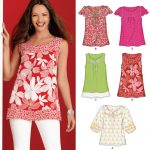 Pattern Sewing Women New Look 6871 Womens Top Sewing Pattern Sewing Pinterest
