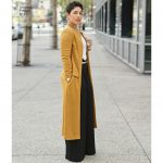 Pattern Sewing Women Simplicity Sewing Pattern Misses Women S Duster Length Coat Pants
