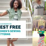 Pattern Sewing Women The Best Free Womens Pdf Sewing Patterns The Di Club
