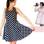 Pattern Sewing Women Women Dress Pdf Sewing Pattern Anninanni Dress