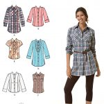 Pattern Sewing Women Womens Shirt Easy Sewing Pattern 2447 Simplicity Easy To Sew