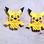 Pikachu Origami 3d Picachu Origami 3d Youtube