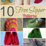 Quick Knitting Patterns 10 Free Knitting Patterns To Make Yourself A Pair Of Slippers Quick